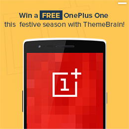 Win a free OnePlus One this festive season with ThemeBrain!