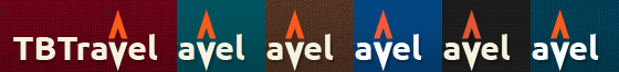 Drupal theme TB Travel has 6 color skins