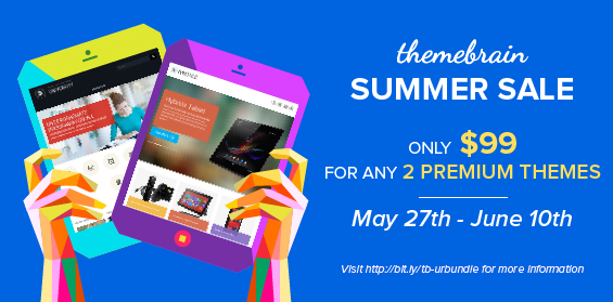 ThemeBrain Summer 2013 Promotion