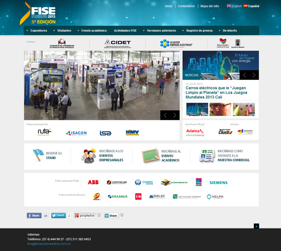 FISE 2013 website