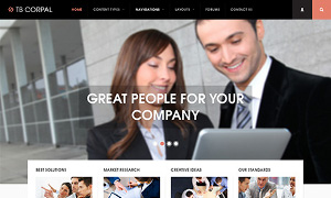 Business drupal theme TB Corpal screenshot