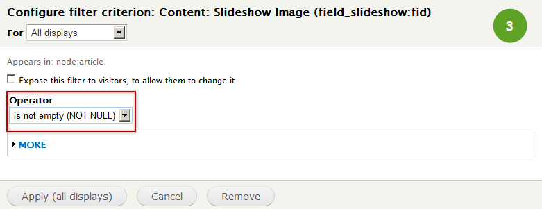 slideshow_view_filter