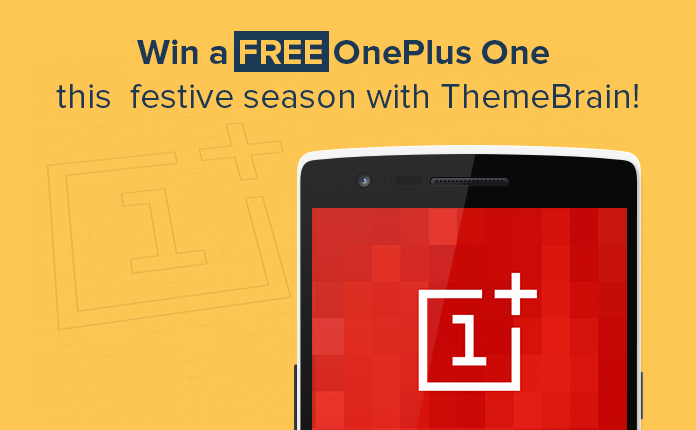Giveaway - Chance to own a OnePlus One this festive season
