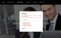 Business drupal theme TB Corpal - Login window