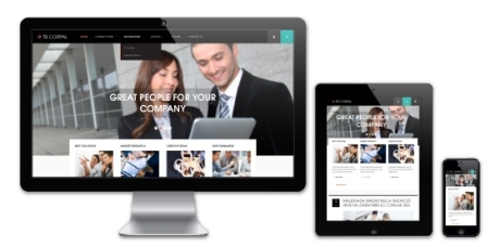 Business drupal theme TB Corpal - Responsive design