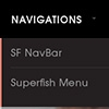 Superfish menu - Business drupal theme TB Corpal