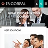Responsive design - Business drupal theme TB Corpal