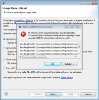 plugin error message eclipse IDE